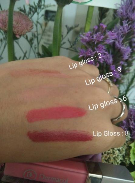 Son Bóng Dermacol Lip Gloss