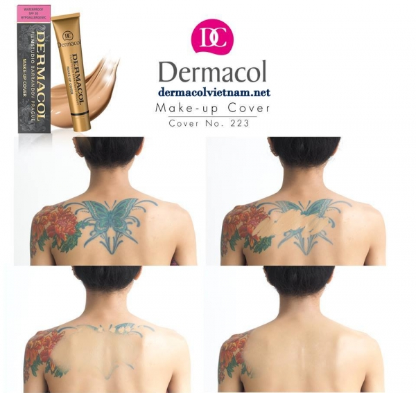 tong mau 223 make up cover dermacol