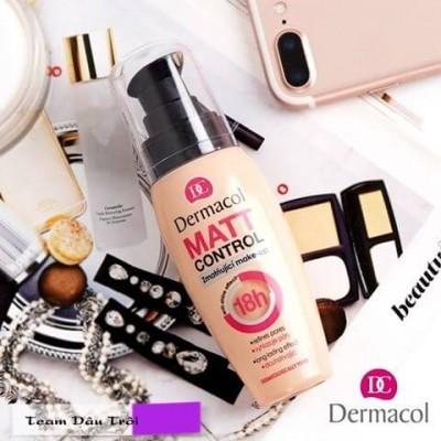 Kem Nền Kiềm Dầu Dermacol Matt Control Make-up