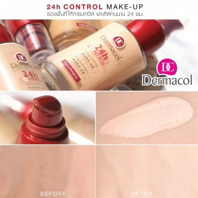 Kem Nền Dermacol 24h Control Make-up