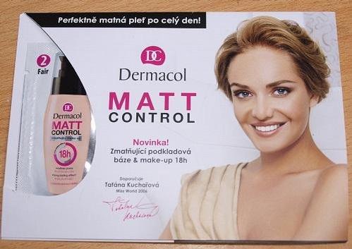 Kem Nền Kiềm Dầu Dermacol Matt Control Make up