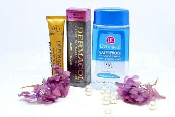 Nước Tẩy Trang Dermacol Waterproof Eye Make-up Remover