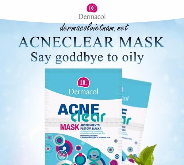 Mặt Nạ Đất Sét Dermacol Acneclear Mask