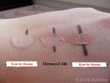 Kem Nền Dermacol 24h Control Make up