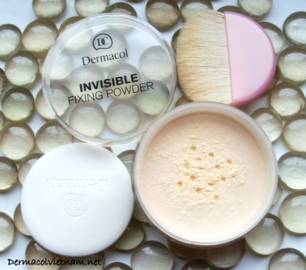 Phấn Bột Dermacol Invisible Fixing Powder