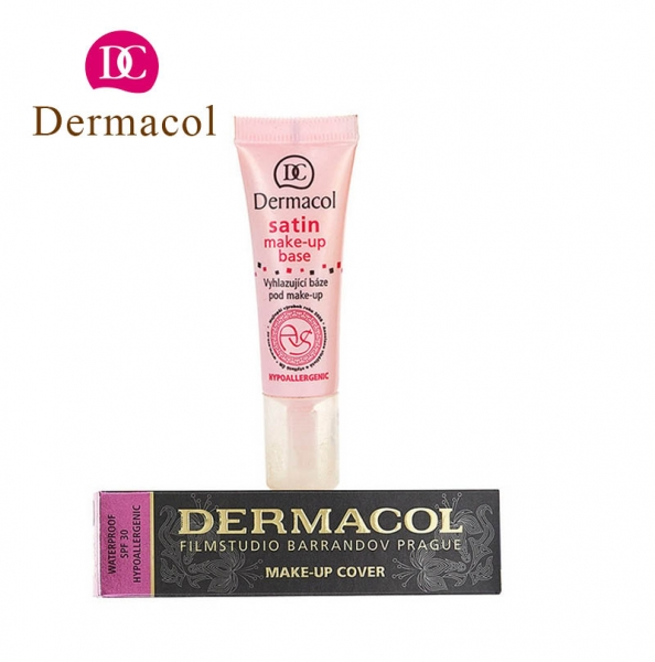 Kem Lót Dermacol Satin Make up Base 10ml