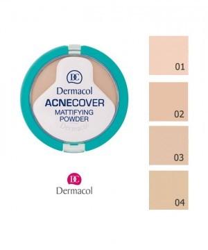 Phấn Nén Dermacol Acnecover Mattifying Powder