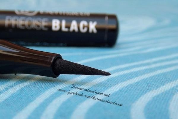 Kẻ Mắt Nước Dermacol Precise Black