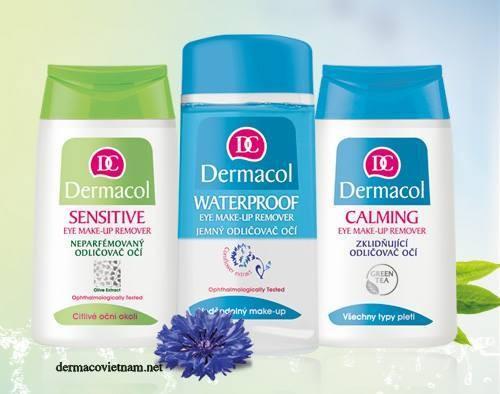 Nước Tẩy Trang Dermacol Waterproof Eye Make up Remover