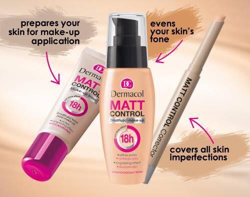 Bút Che Khuyết Điểm Dermacol Matt Control Make up Corrector