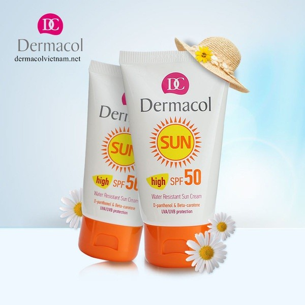Kem Chống Nắng Dermacol Water resistant Sun Cream Spf 50