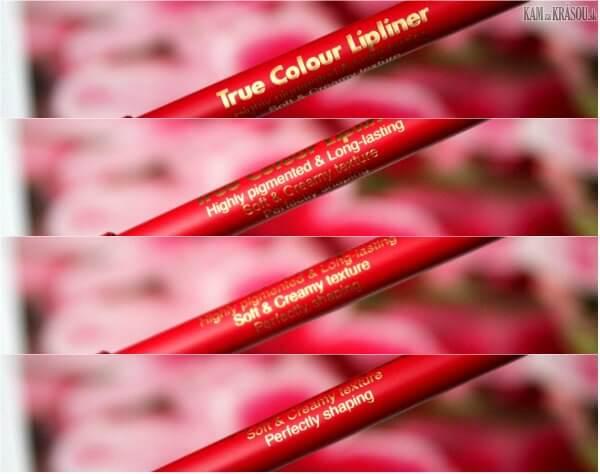 Chì Kẻ Môi Không Thấm Nước Dermacol True colour lipliner