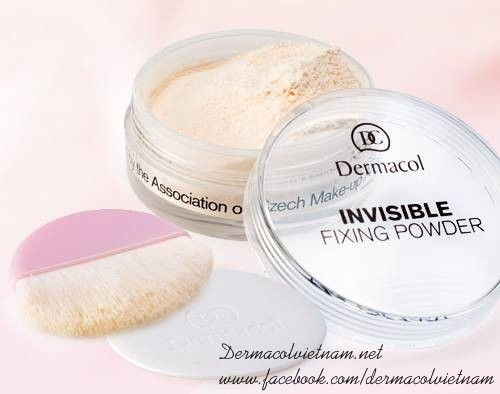 Combo 9: Dermacol Make up Cover + Phấn Invisible Fixing Powder