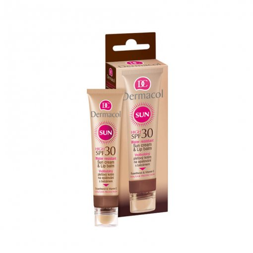 Kem Chống Nắng Dermacol Sun Cream Lip Balm Spf 30