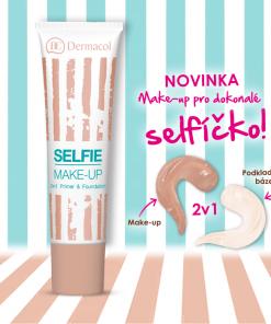 ken nền 2 trong 1 dermacol selfie make up