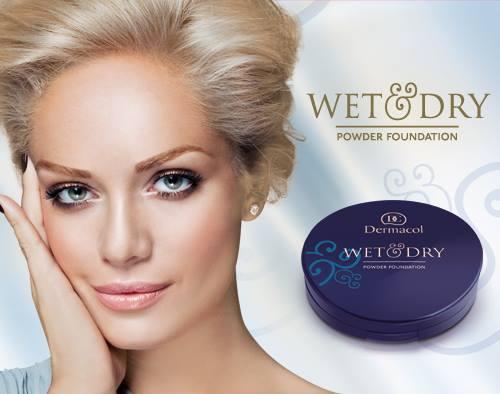 Phấn Nén Không Thấm Nước Dermacol Wet & Dry Powder Foundation