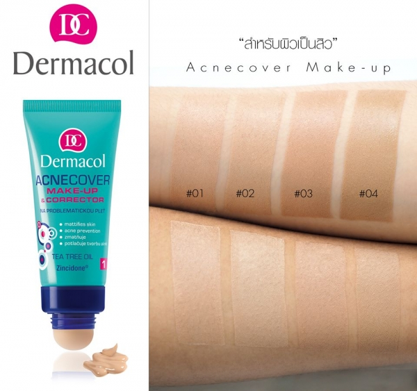 Kem Nền Cho Da Mụn Dermacol Acnecover Make up With Corrector