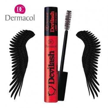 Mascara Làm Dài Mi Dermacol Devilash Mascara Black