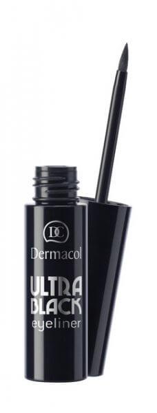 Kẻ mắt nước không thắm nước Dermacol Ultra black eyeliner