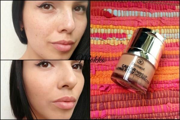 Kem nền Dermacol Caviar long-stay make-up & corrector
