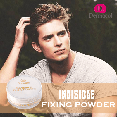 Phấn Bột Cho Nam – Invisible Fixing Powder