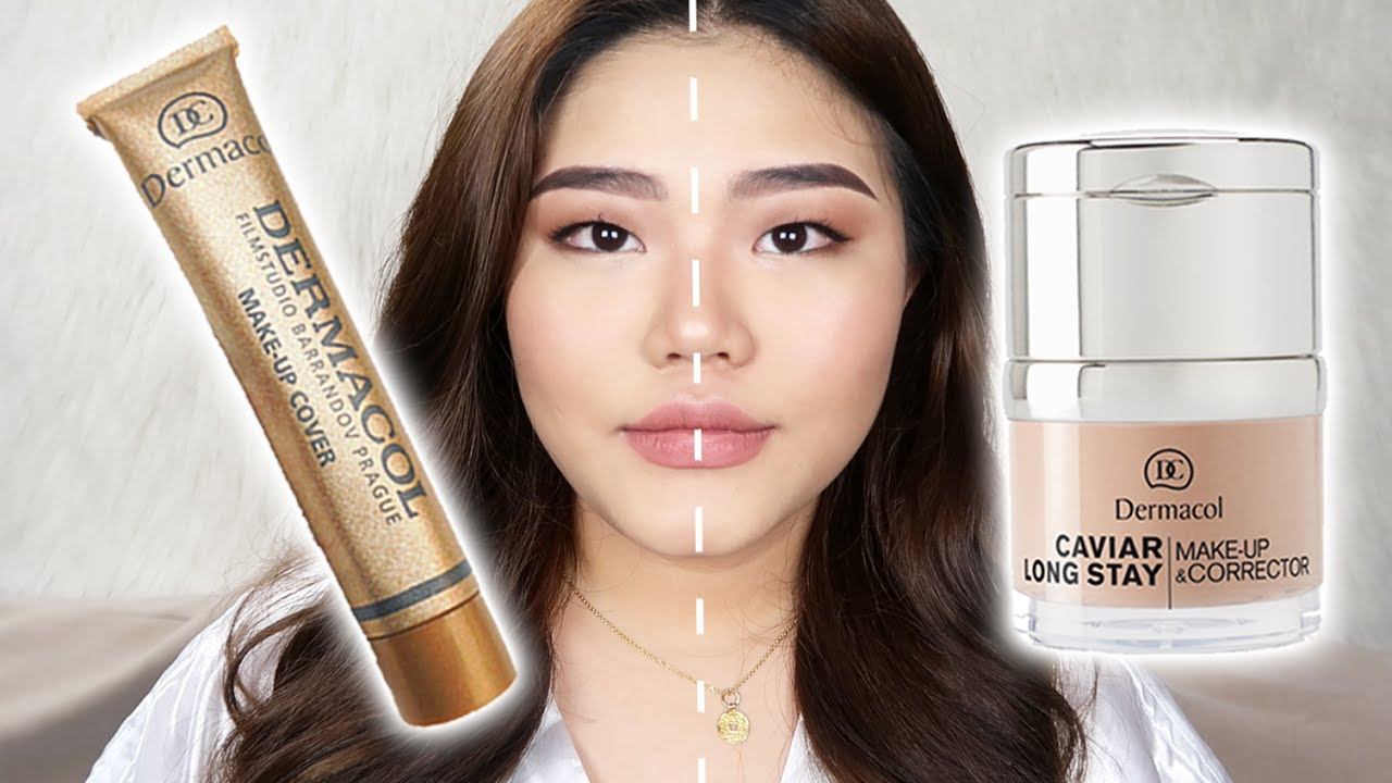 So sánh kem nền Dermacol Make up cover