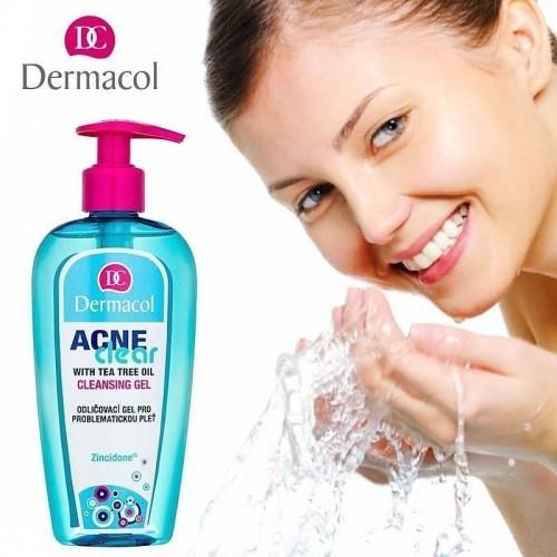 Tẩy Trang Và Gel Làm Sạch 2in1 Dermacol ACNECLEAR